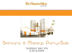 Dr. Hauschka Skin Care and Make-Up Party + Sale