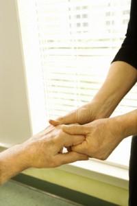 arthritis hand massage