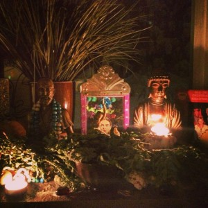 Altar for Massage Therapists